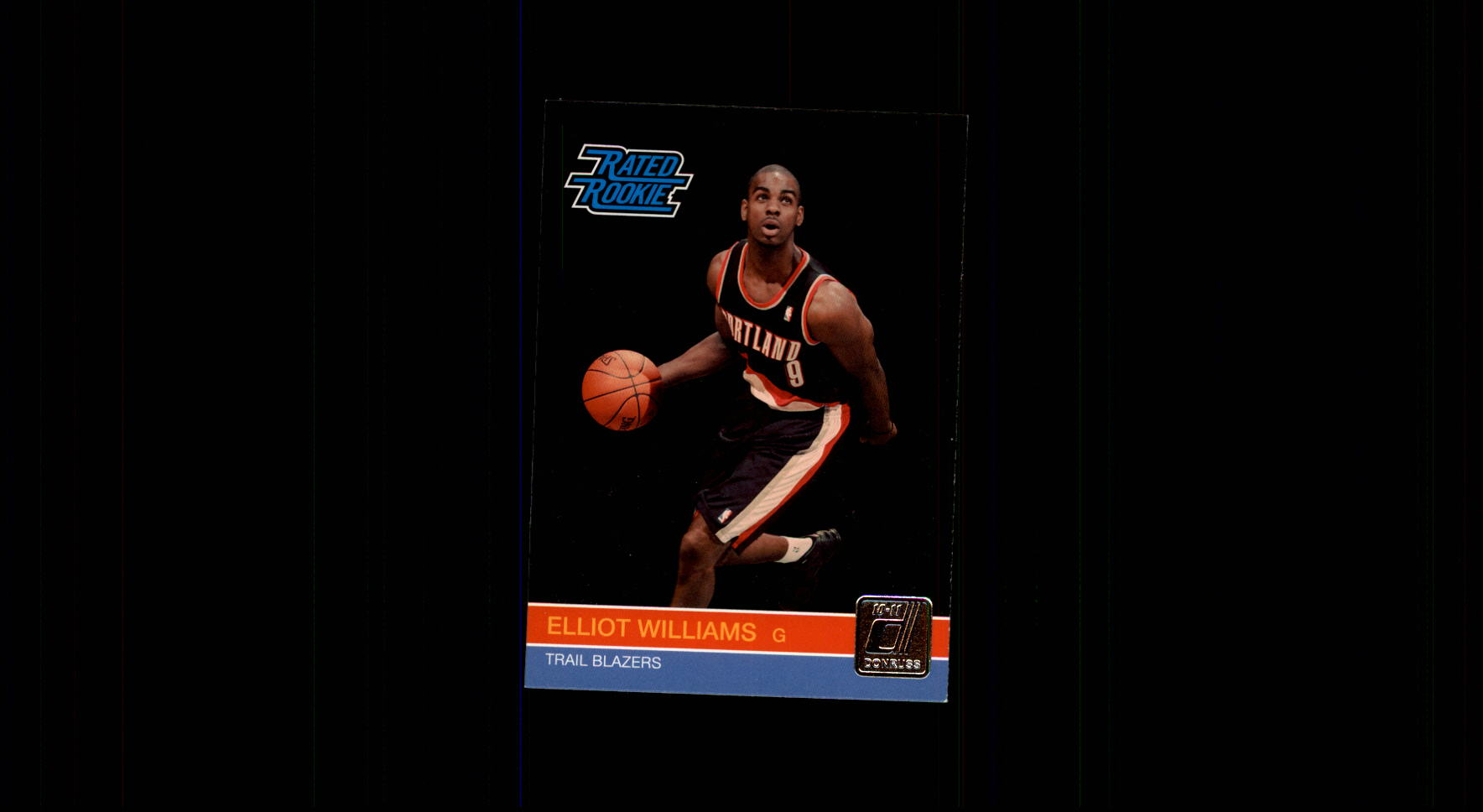 2010-11 Donruss #249 Elliot Williams RC
