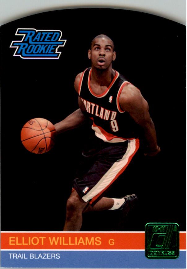 2010-11 Donruss Die Cuts Emerald #249 Elliot Williams