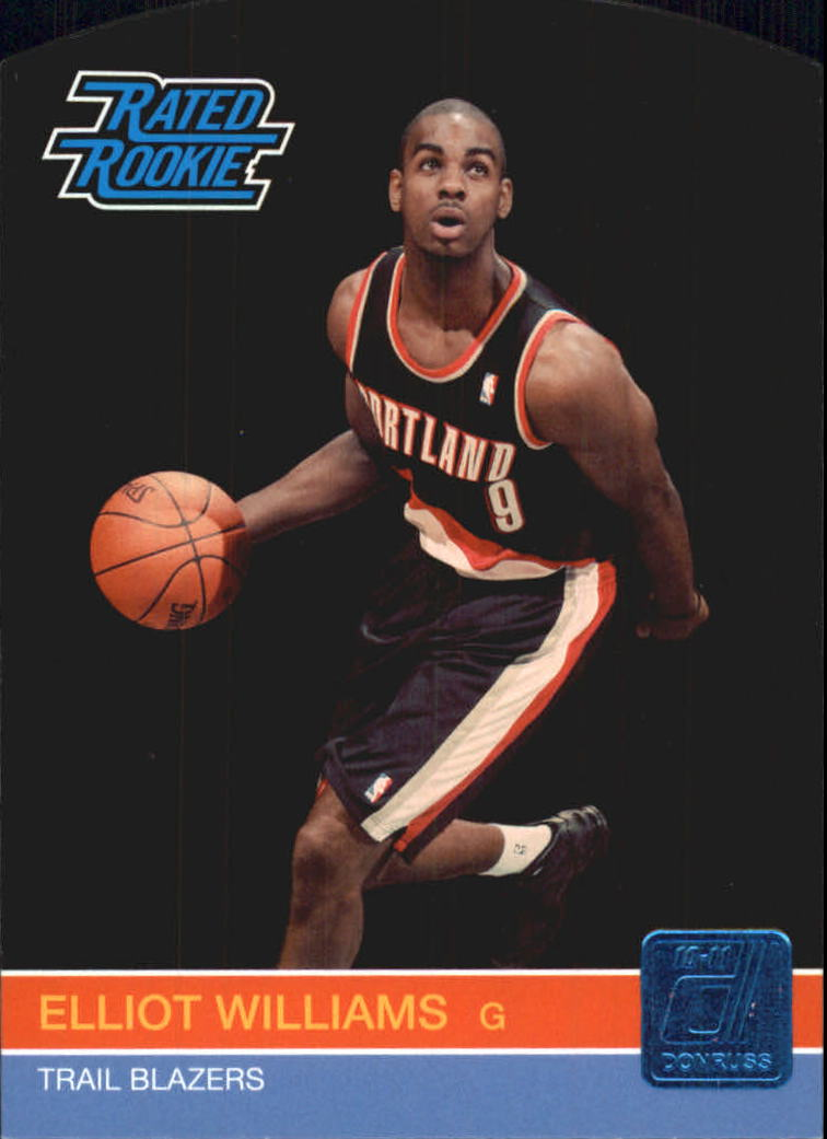 2010-11 Donruss Die Cuts Sapphire #249 Elliot Williams
