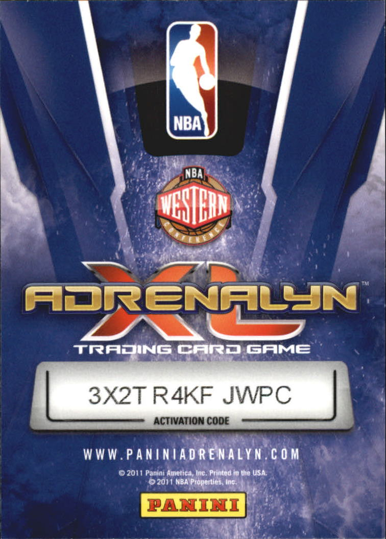 2010-11 Adrenalyn XL #106 Ekpe Udoh RC