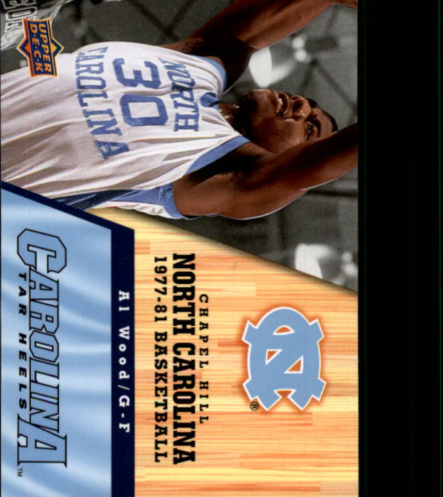 2010-11 Upper Deck North Carolina #37 Al Wood