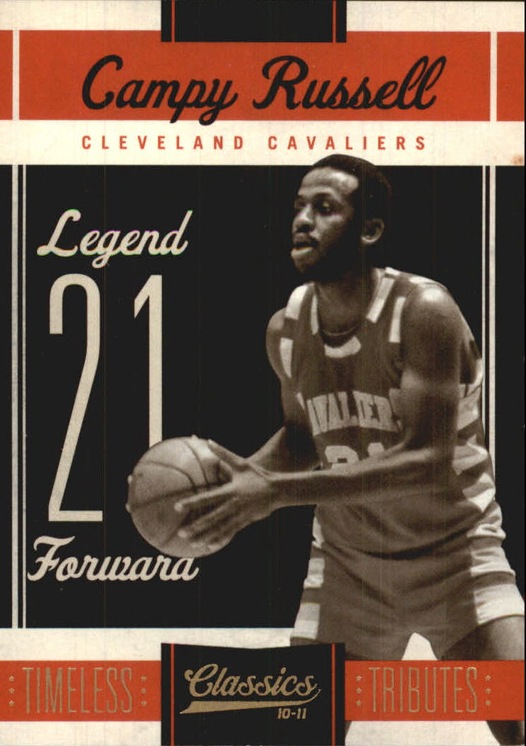 2010-11 Classics Timeless Tributes Gold #132 Campy Russell