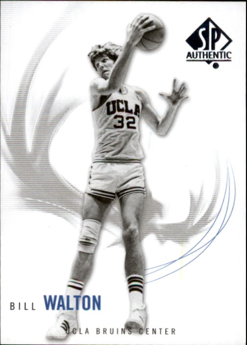 2010-11 SP Authentic #3 Bill Walton