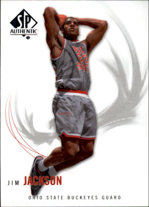 2010-11 SP Authentic #24 Jim Jackson