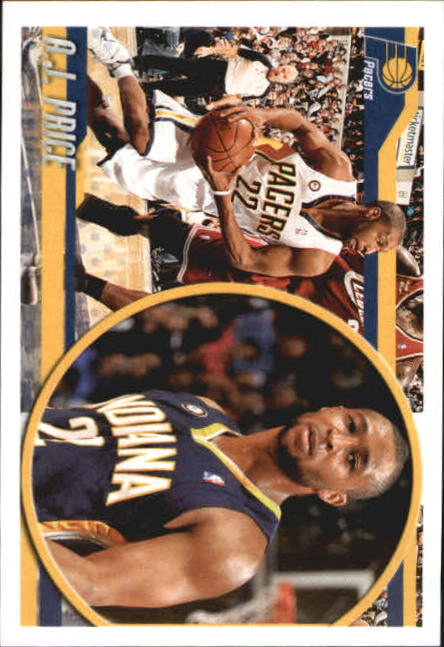 2010-11 Panini Stickers #97 A.J. Price