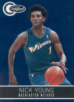 2010-11 Totally Certified Blue #147 Nick Young