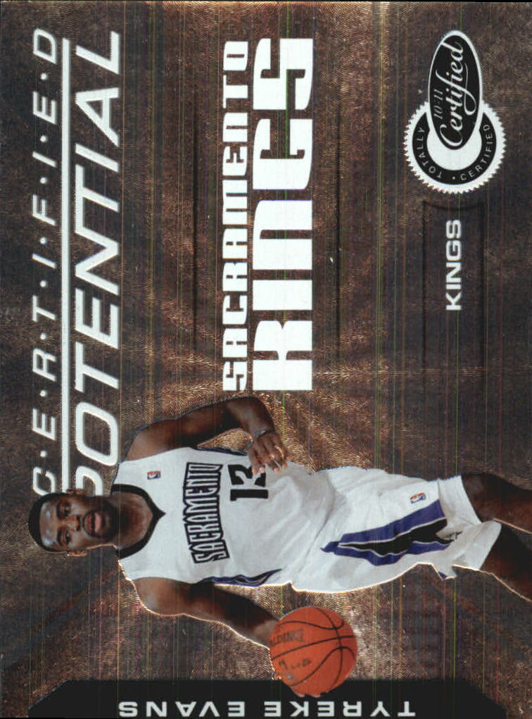 2010-11 Totally Certified Potential #4 Tyreke Evans