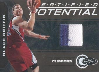2010-11 Totally Certified Potential Jerseys Prime Gold #1 Blake Griffin/25