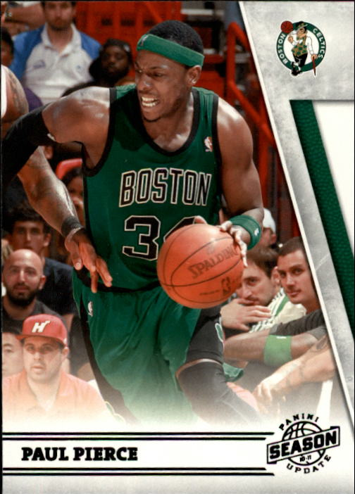 2010-11 Panini Season Update #4 Paul Pierce