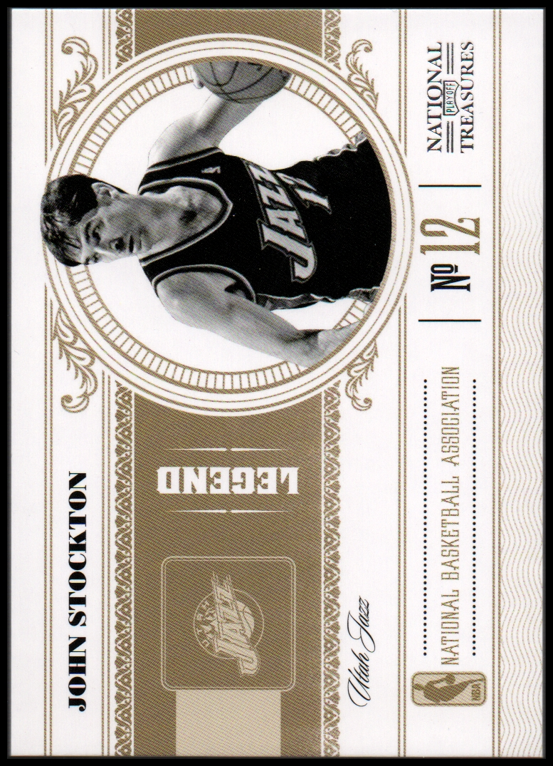2010-11 Playoff National Treasures #138 John Stockton