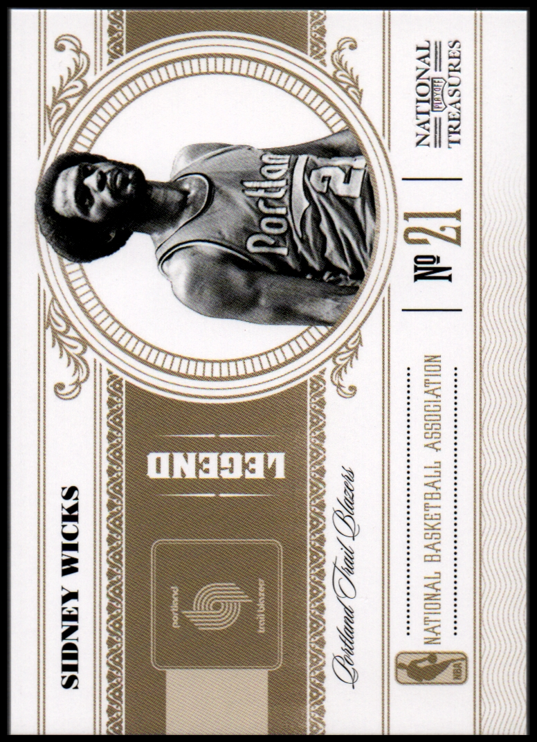 2010-11 Playoff National Treasures #169 Sidney Wicks