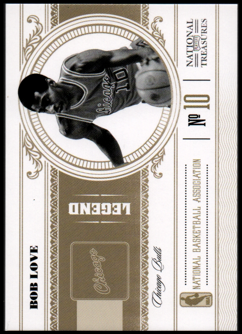 2010-11 Playoff National Treasures #184 Bob Love