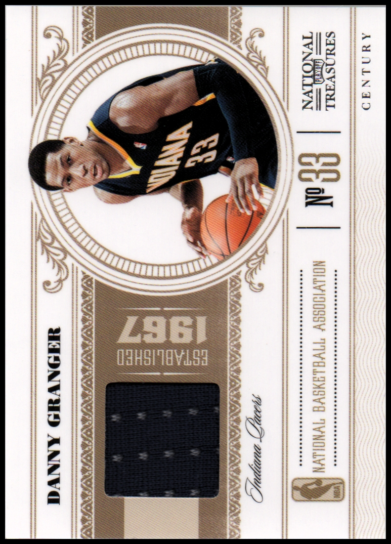 2010-11 Playoff National Treasures Century Materials #36 Danny Granger/49