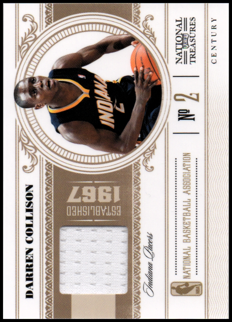 2010-11 Playoff National Treasures Century Materials #38 Darren Collison/49
