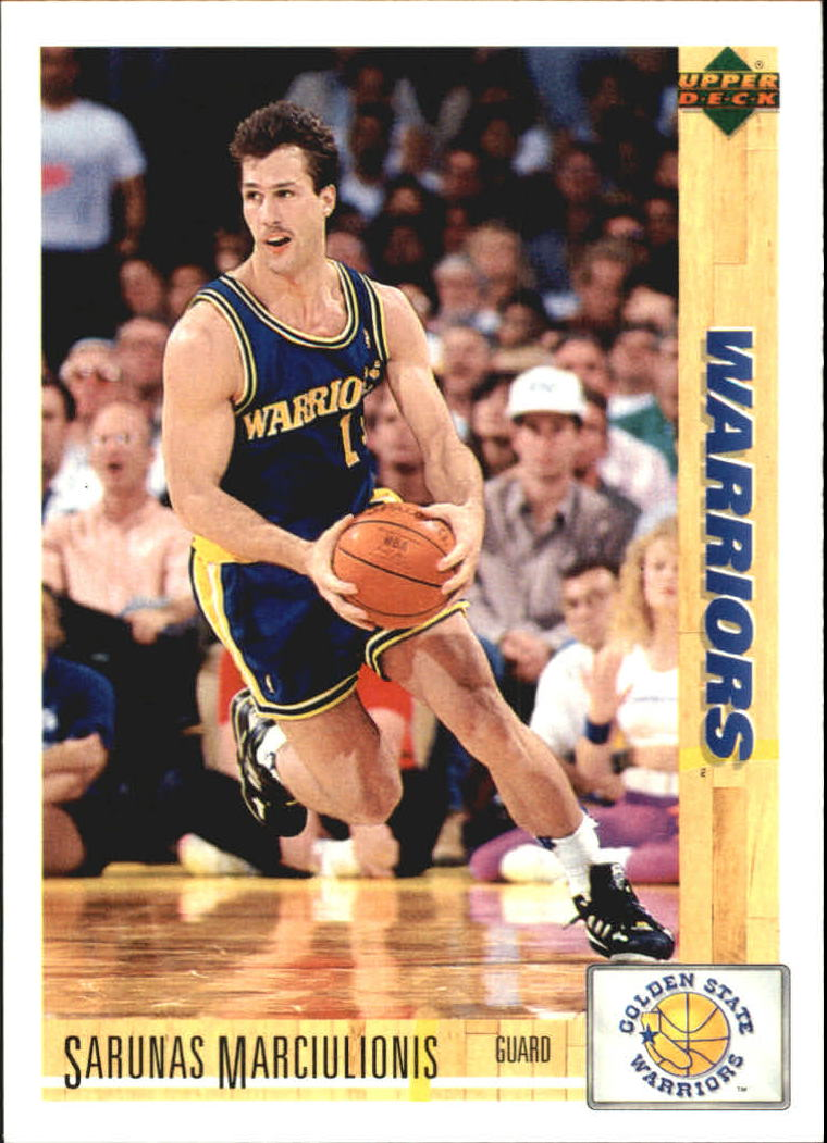1991-92 Upper Deck International Spanish #53 Sarunas Marciulionis