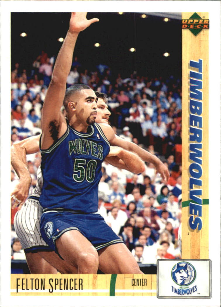 1991-92 Upper Deck International Spanish #73 Felton Spencer