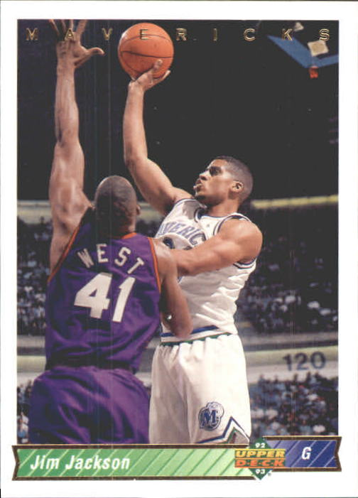 1992-93 Upper Deck International Italian #136 Jim Jackson