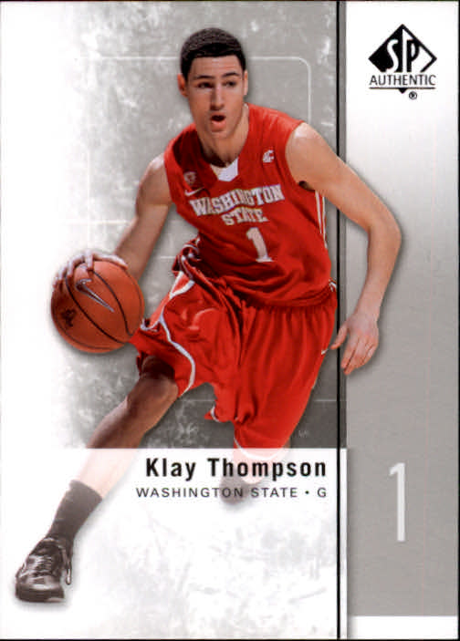 2011-12 SP Authentic #23 Klay Thompson