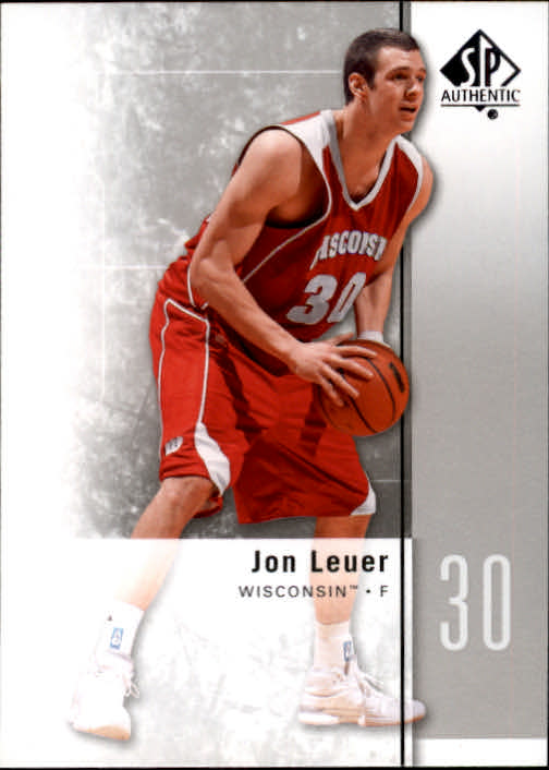 2011-12 SP Authentic #41 Jon Leuer