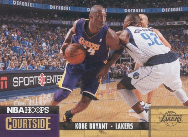 2011-12 Hoops Courtside #1 Kobe Bryant