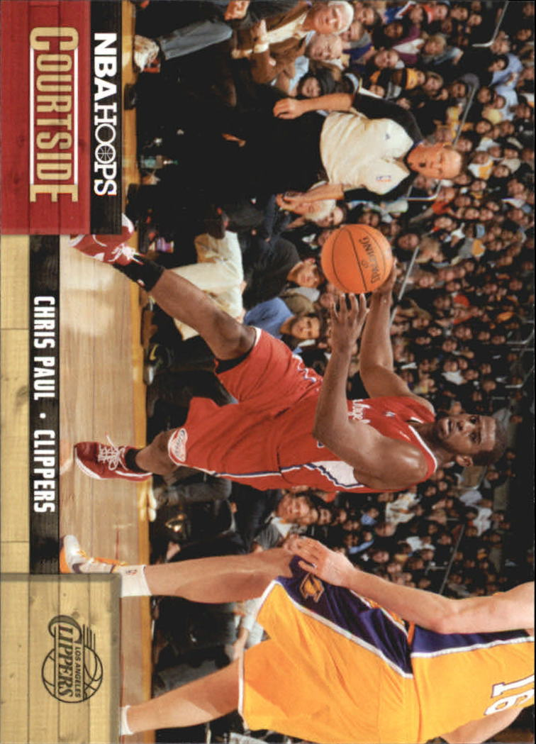 2011-12 Hoops Courtside #3 Chris Paul