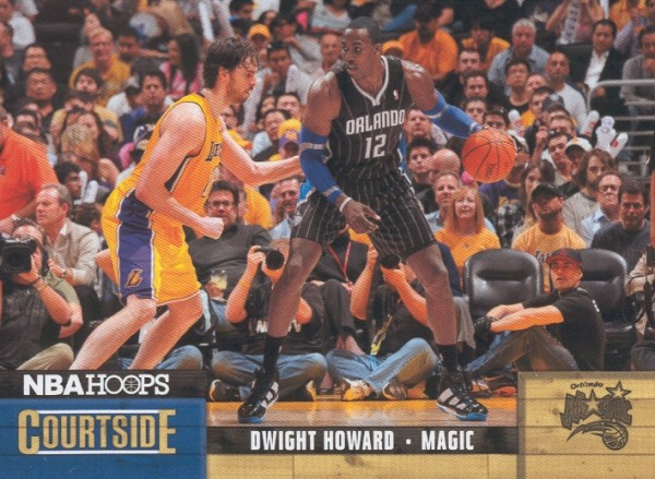 2011-12 Hoops Courtside #4 Dwight Howard