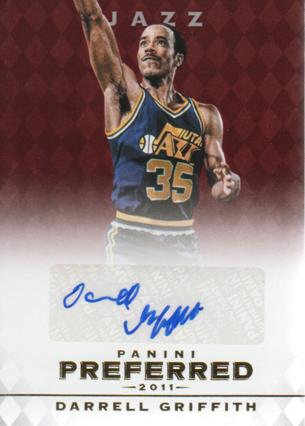 2011-12 Panini Preferred #35 Darrell Griffith PS/74 AU