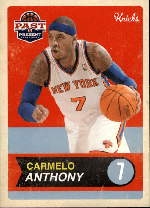 2011-12 Panini Past and Present #4 Carmelo Anthony