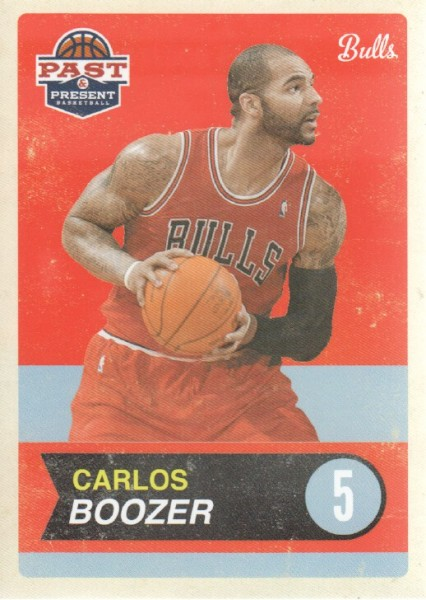 2011-12 Panini Past and Present #7 Carlos Boozer