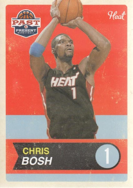 2011-12 Panini Past and Present #8 Chris Bosh