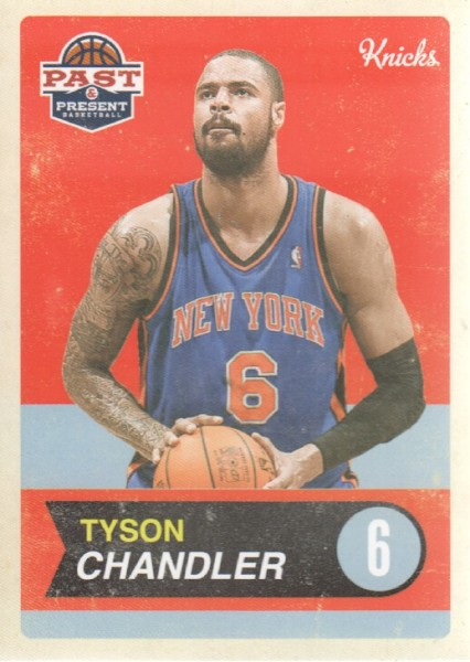2011-12 Panini Past and Present #12 Tyson Chandler
