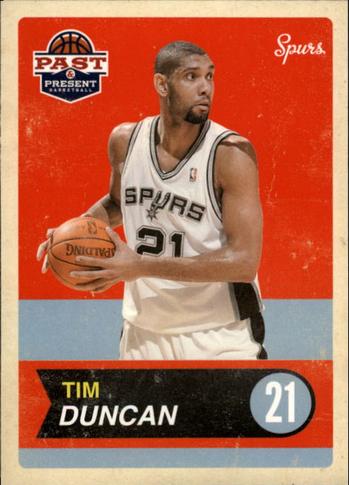 2011-12 Panini Past and Present #20 Tim Duncan
