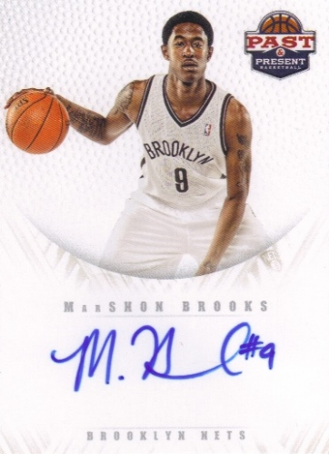2011-12 Panini Past and Present 2011 Draft Pick Redemptions Autographs #XRCE MarShon Brooks
