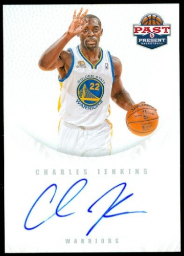 2011-12 Panini Past and Present 2011 Draft Pick Redemptions Autographs #XRCV Charles Jenkins