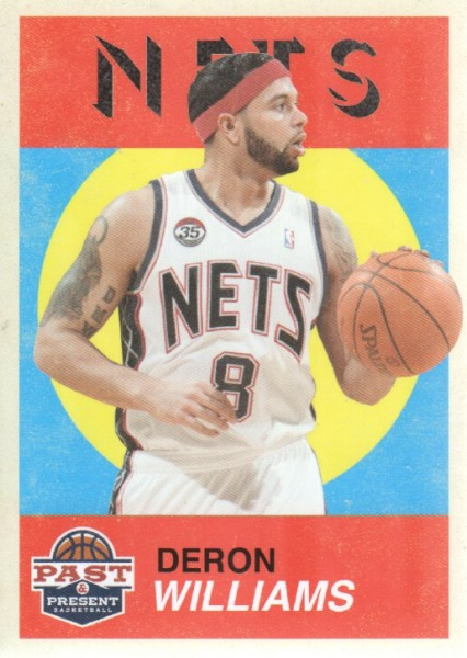 2011-12 Panini Past and Present Variations #24 Deron Williams