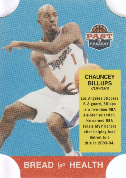 2011-12 Panini Past and Present Bread for Health #3 Chauncey Billups