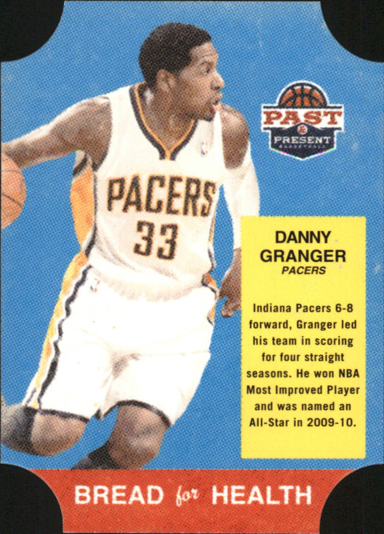 2011-12 Panini Past and Present Bread for Health #21 Danny Granger