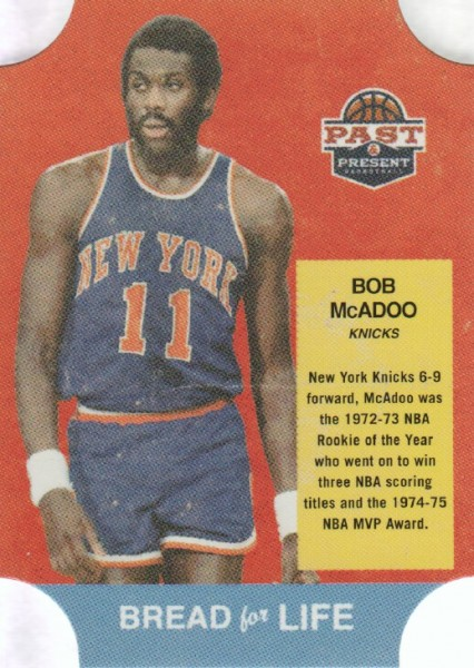 2011-12 Panini Past and Present Bread for Life #24 Bob McAdoo