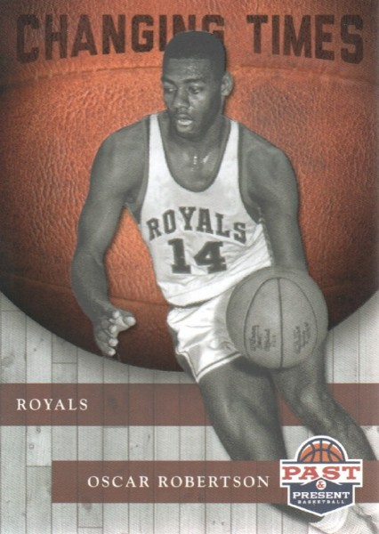 2011-12 Panini Past and Present Changing Times #2 Oscar Robertson
