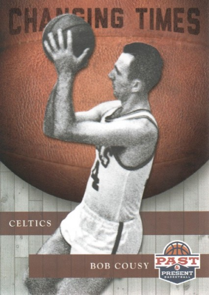 2011-12 Panini Past and Present Changing Times #5 Bob Cousy