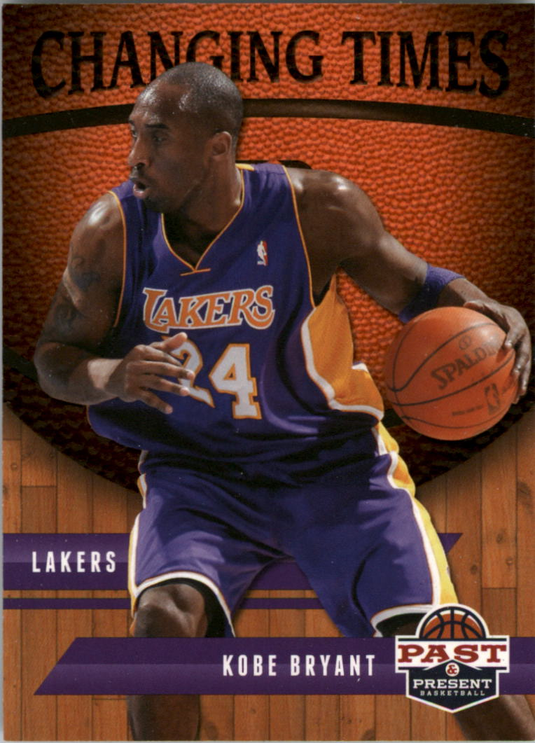 2011-12 Panini Past and Present Changing Times #21 Kobe Bryant