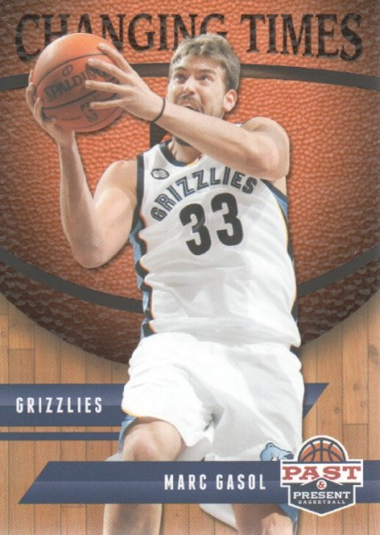 2011-12 Panini Past and Present Changing Times #29 Marc Gasol