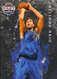 2011-12 Panini Past and Present Raining 3's #1 Dirk Nowitzki