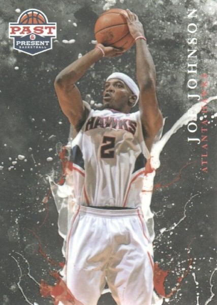 2011-12 Panini Past and Present Raining 3's #2 Joe Johnson