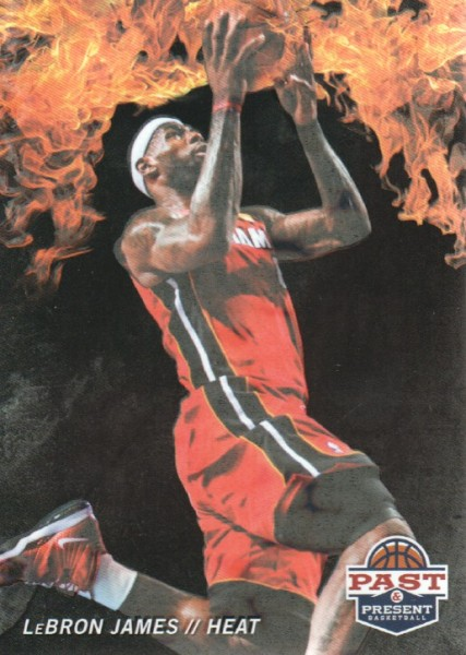2011-12 Panini Past and Present Fireworks #2 LeBron James