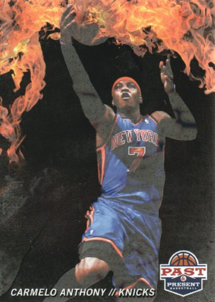 2011-12 Panini Past and Present Fireworks #9 Carmelo Anthony