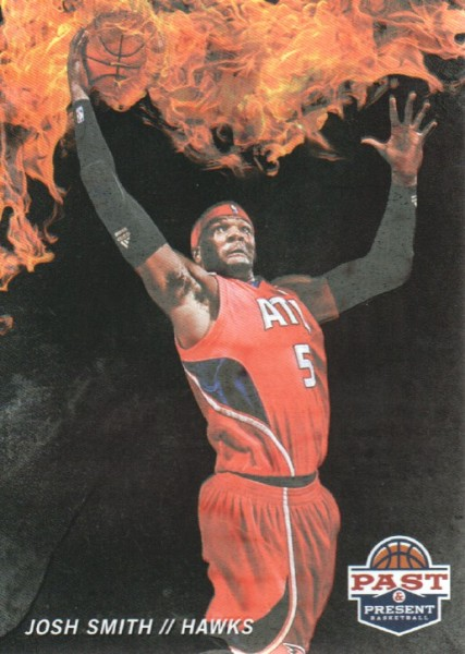 2011-12 Panini Past and Present Fireworks #17 Josh Smith
