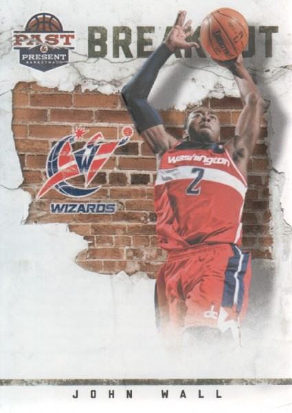 2011-12 Panini Past and Present Breakout #2 John Wall
