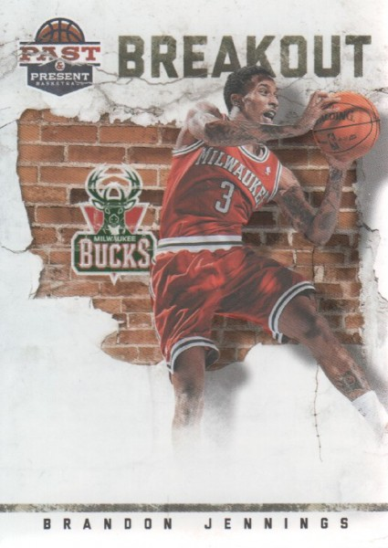 2011-12 Panini Past and Present Breakout #5 Brandon Jennings