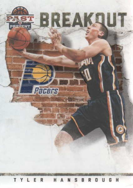 2011-12 Panini Past and Present Breakout #7 Tyler Hansbrough